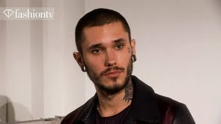 Diesel Black Gold Fall/Winter 2013-14: Male Models Backstage | Milan Men's Fashion Week | FashionTV