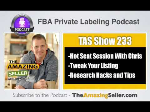 TAS 233 : (HOT SEAT) SLOW SALES AFTER RUNNING OUT OF STOCK – NOW WHAT?