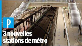 Ligne 14 : les nouvelles stations prêtes à accueillir leurs voyageurs