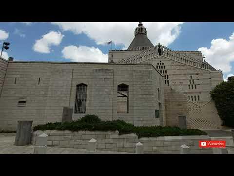 Nazareth, Israel Virtual Tour, Basilica Of The Annunciation