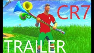 *NEW*Cristiano Ronaldo Skin !!! Official Trailer Gameplay (Fortnite Batttle Royale USA