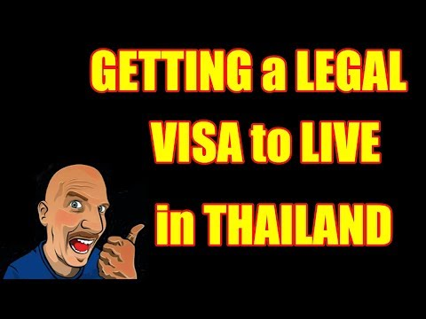 Getting a Legal VISA to Live in Thailand V302