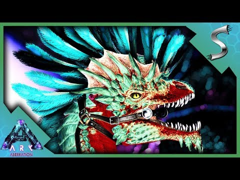 EVERY NEW CREATURE IN ABERRATION! ROCK DRAKE, REAPER QUEEN & KARKINOS! - Ark: Aberration [Gameplay]