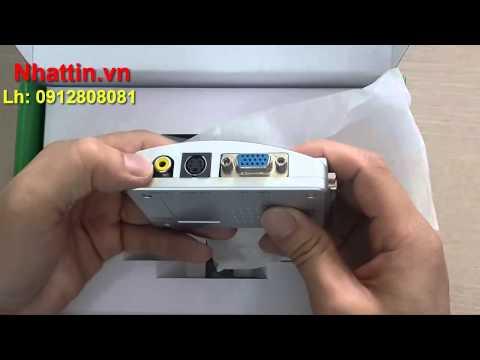 Bán Buôn Bộ Chuyển VGA To AV, Laptop Hoặc PC Sang Màn Hình Video