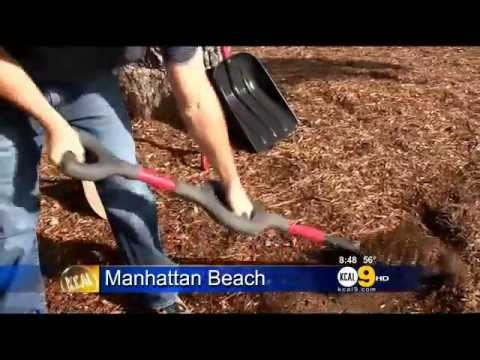 Ergonomic Shovel Inventor Stephen Walden in CBS LA News Segment