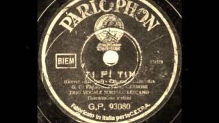 Gianni di Palma - Oscar Carboni - Trio Lescano - TI-PI-TIN - Maria Grever - Galdieri - Anno de 1939