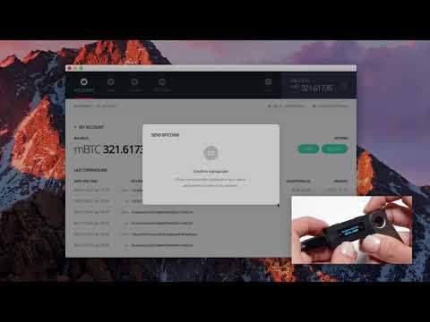 Send Bitcoins With Your Ledger Nano S