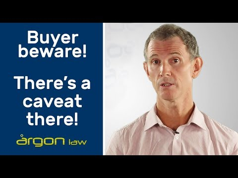 Caveats: When can you lodge a caveat on a land sale?   Legal Advice from a Sunshine Coast Lawyer