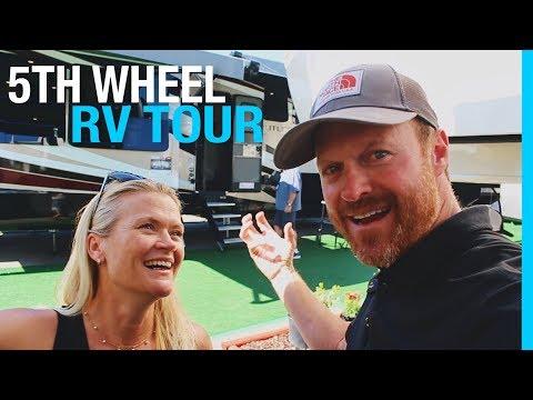 5TH WHEEL & TOY HAULER RV TOUR (RVIA SHOW)