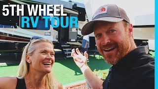 5TH WHEEL & TOY HAULER RV TOUR (RVIA SHOW)