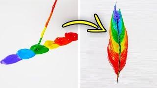 ٣٢ فكرة فنيّة بسيطة ومذهلة