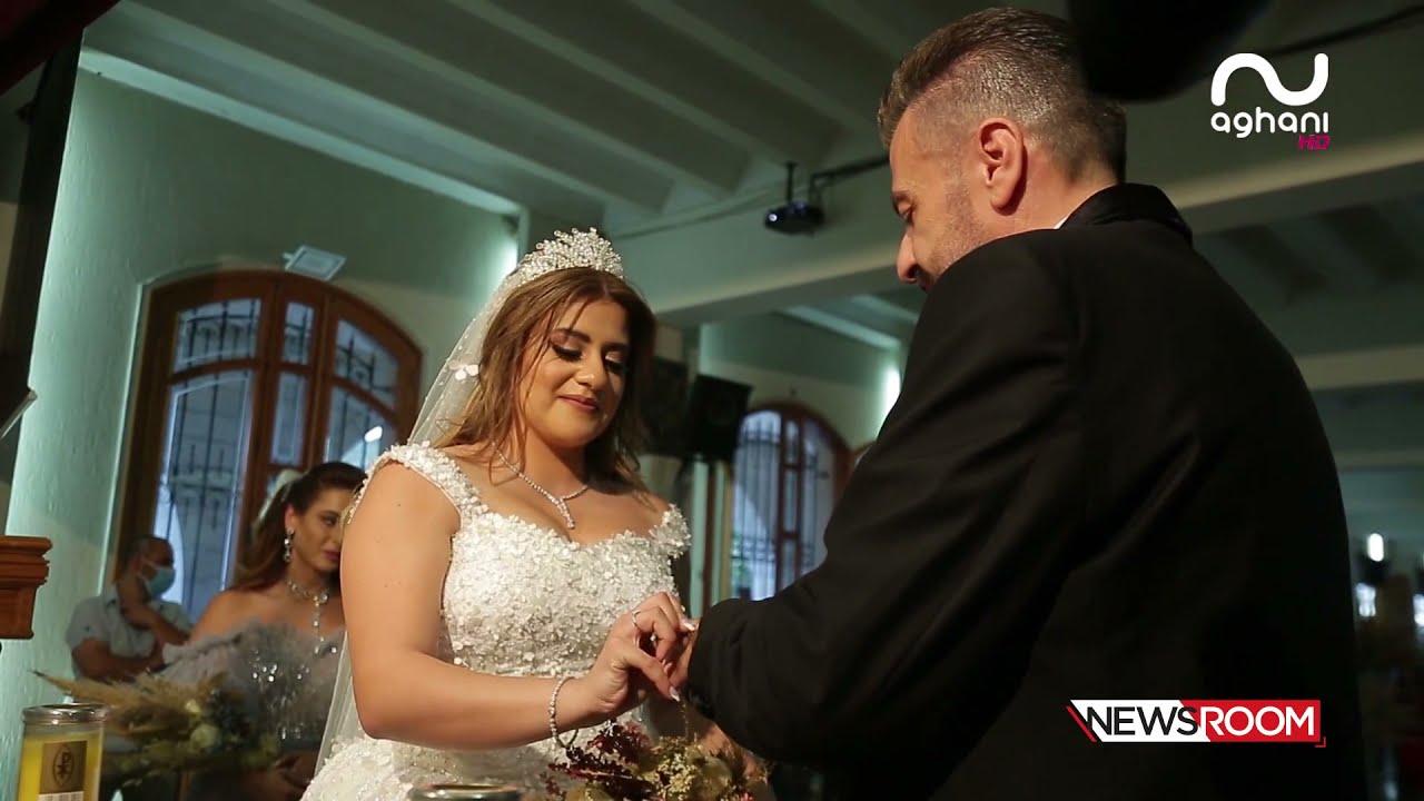 نادر الأتات، جورج الراسي وربيع بارود يحتفلون بزفاف شربل سعادة وعروسه!