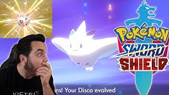 SHINY DISCO TOGEPI and SHINY TOGEKISS in Pokemon Sword and Shield!