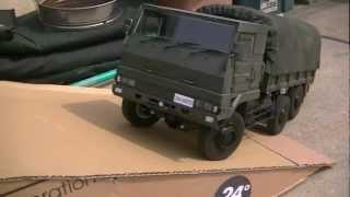 RC 1/13 自衛隊73式大型トラック  6X6 3 2/1t Japanese Army cargo truck