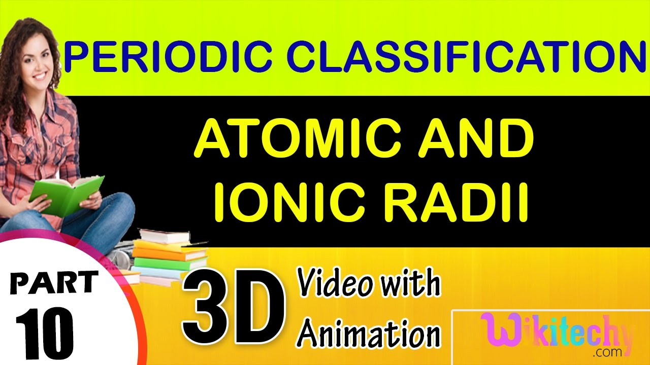 Atomic and ionic radii class 12 chemistry subject notes lectures atomic and ionic radii class 12 chemistry subject notes lectures cbse urtaz Choice Image