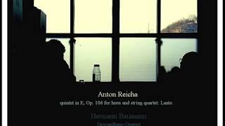 Anton Reicha quintet in E, Op.106