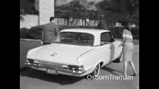 1963 Plymough Valiant Signet 200 Convertible Commercial.