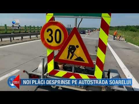 Stirile Kanal D (18.07.2018) - Noi placi desprinse pe autostrada soarelui! Editie COMPLETA