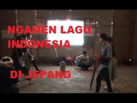 NGAMEN DI JEPANG PAKAI LAGU INDONESIA /hoho ardiyan