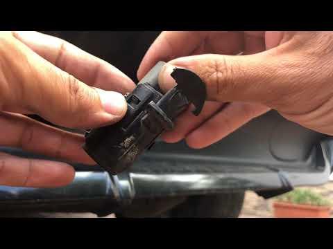 Замена заднего датчика парковки BMW X5 E53 | Диагностика датчика парковки без компьютера