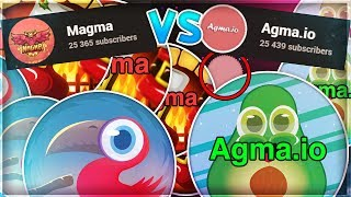 Gambar cover AGMA.IO LET'S BEAT THE AGMA.IO CHANNEL! *AGMA VS MAGMA SUBSCRIBER WAR*