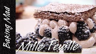 Baking Mad Monday: Chocolate Mille Feuille