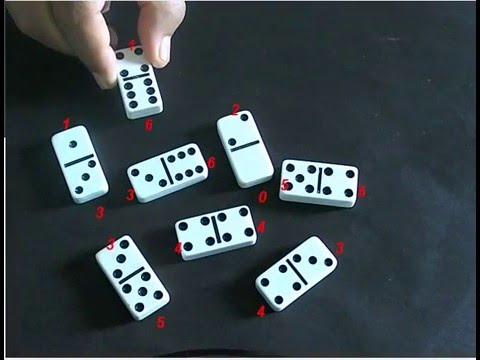Computer vision; Object detection, reading Dominos with artificial vision is now possible!