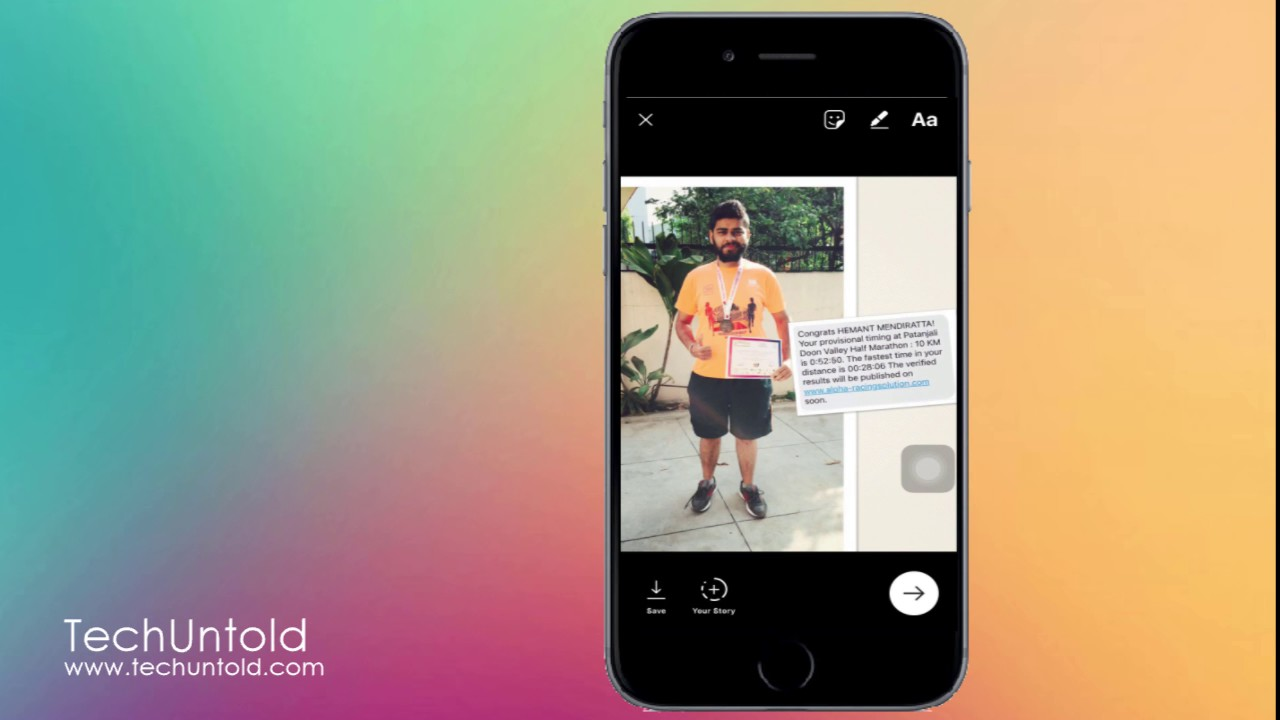 Upload Photos and Videos to Instagram Stories from Gallery or Camera roll