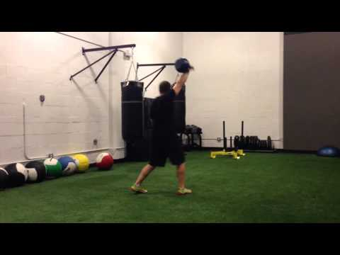 Weightlifting with ViPR, John Sinclair. Video 11