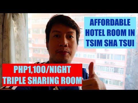 CHEAPEST HOTEL IN HONG KONG TSIM SHA TSUI | CHUNGKING MANSION TRIPLE SHARING ROOM TOUR | TAGALOG PH