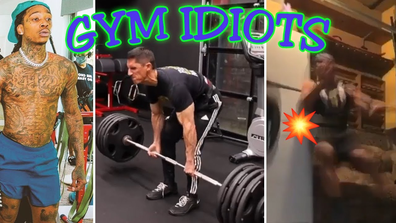 """Gym Idiots - Athlean-X Fake Weight """"Redemption,"""" Wiz Khalifa Squat, and More"""