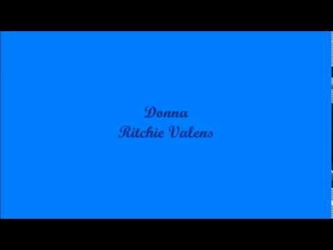 Donna - Ritchie Valens (Lyrics - Letra)