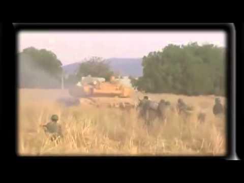 Попадания рпг в танк видео