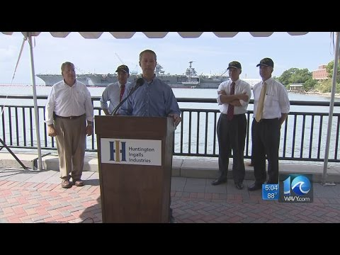 Deanna LeBlanc on Va. congressmen visiting Newport News