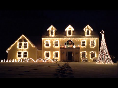 2013 Christmas In Townsend Light Display (Sleigh Ride - Johnny Mathis)