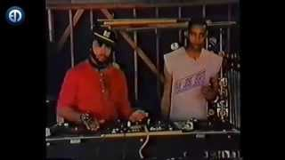 Egyptian Lover DJ Tutorial 1983 feat. Chris the Glove Taylor & Ice T