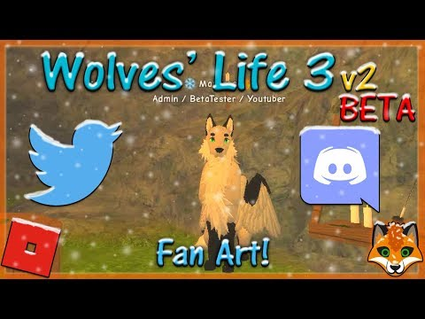 Roblox Wolves Life 3 How To Join Shyfoox Studios Group Hd - Roblox Wolves Life 3 V2 Beta Fan Art 17 Hd Youtube