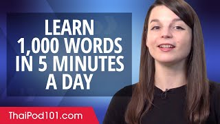 How to write 1,000 Thai Words in a 5 Minutes a Day