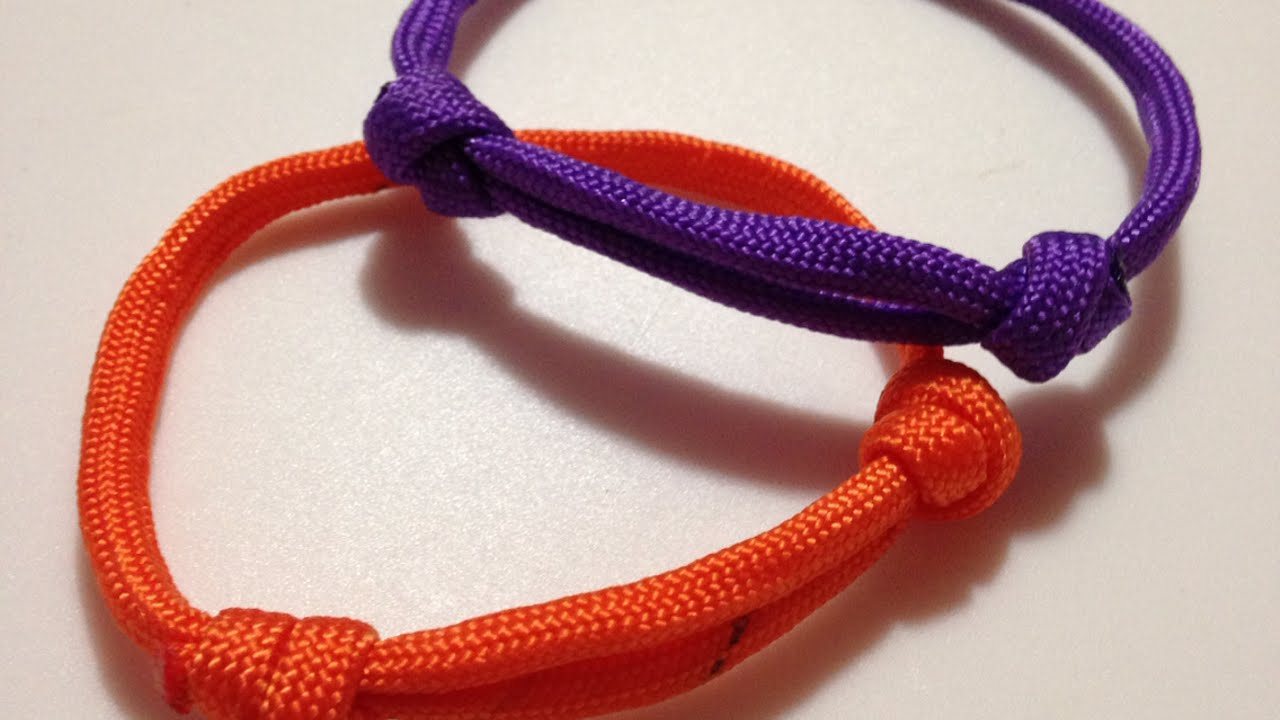 How To Make An Easy Sliding Knot Friendship Bracelet Diy Style Tutorial Guidecentral You