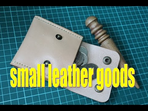 what should we make for our first leather project