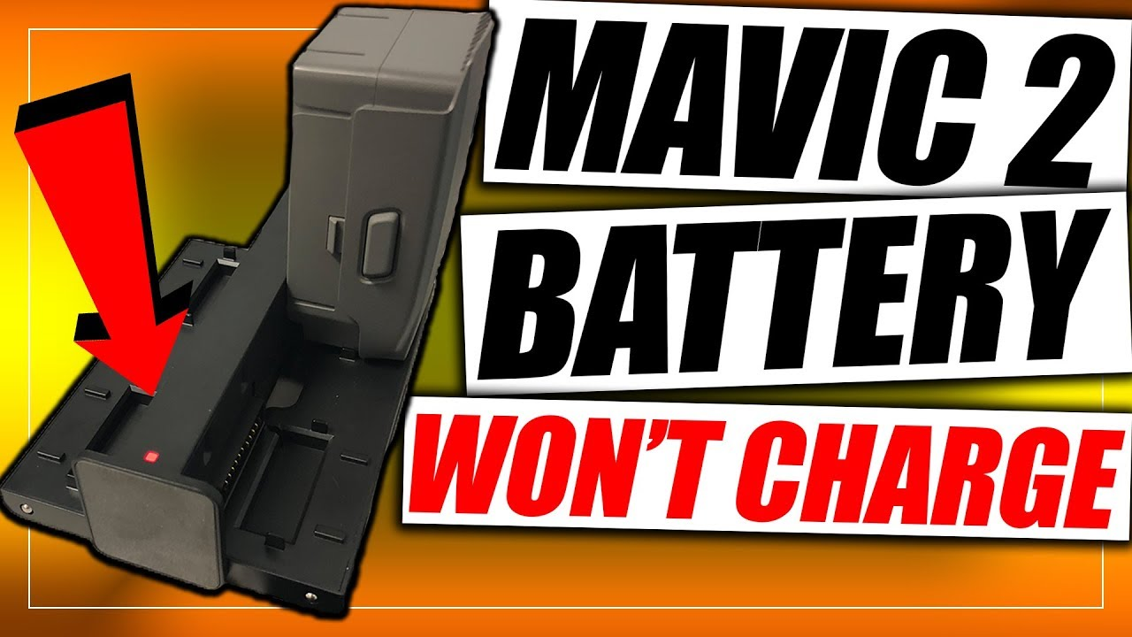 Mavic 2 Battery Won't Charge | Easy Fix - YouTube