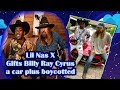 Lil Nas X gives Billy Ray Cyrus a Maserati plus he gets boycotted for jeans