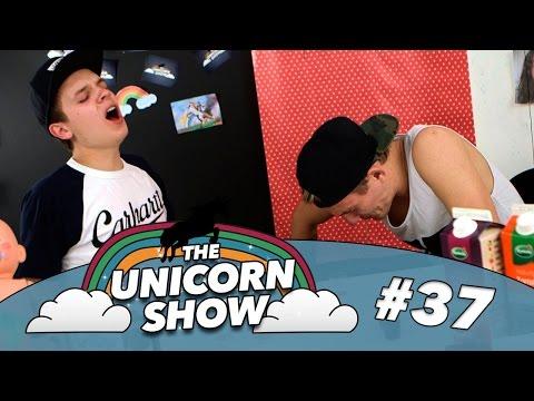 Klam shot challenge!? | The Unicorn Show | Ep. 37