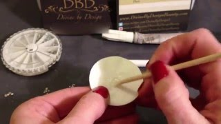 How to Apply Swarovski Crystals /Gems To CND Shellac Nails