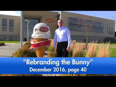 Dairy Foods Visits Wells Enterprises In Le Mars, Iowa To See How They Make Blue Bunny Ice Cream.