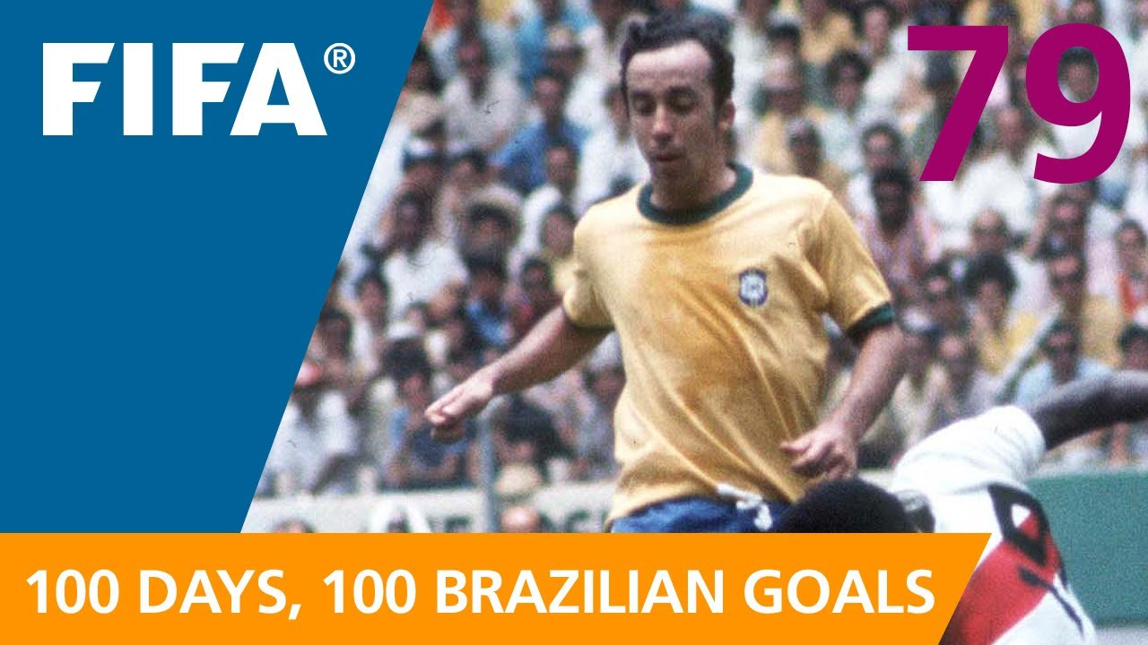 100 Great Brazilian Goals 79 Tostao Mexico 1970