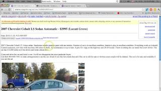 Craigslist Georgia Used Cars for Sale by Owner - YouTube