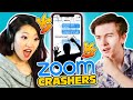 Craziest Zoom Crashing Challenge! | Who Can Bring The Most Interesting People