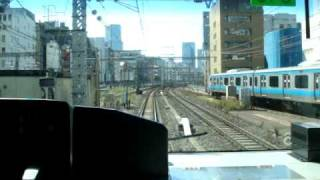 【前面展望】山手線外回り 上野→東京