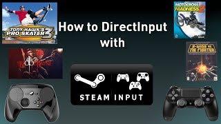 Steam controller xinput
